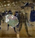 Toulouse Lautrec La danse au Moulin Rouge, 1895, 298x316 cm,