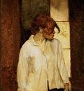 Toulouse Lautrec Rosa la Rouge, 1886 87, Barnes foundation