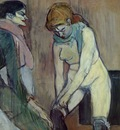 Toulouse Lautrec Woman Pulling up her Stocking, 1894, Musee