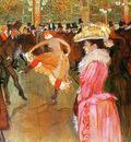 Toulouse Lautrec de Henri Dance in the moulin rouge Sun