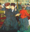 lautrec at the moulin rouge two women waltzing