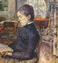 lautrec comtesse adele de toulouse lautrec in the salon at malrome