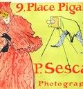 lautrec the photographer sescau poster
