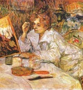 lautrec woman at her toilette