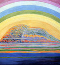 Trachsel Albert Dream landscape Sun