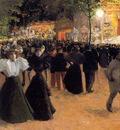 Truchet Abel Lafete Forain Place Pigalle