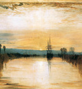 Turner Joseph Chichester canal Sun