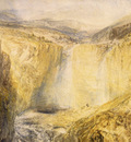 Turner Joseph Mallord William Fall of the Tees Yorkshire