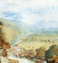 Turner Joseph Mallord William Ingleborough From The Terrace Of Hornby Castle