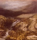 Turner Joseph Mallord William Mountains Stream, Coniston