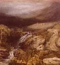 Turner Joseph Mallord William Mountains Stream, Coniston