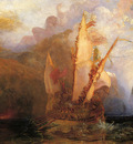 Turner Joseph Mallord William Odysseus Deriding Polyphemus detail1