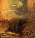 Turner Joseph Mallord William The Devil s Bridge St  Gothard