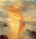 Turner Joseph Mallord William The burning of the house of Lords and commons