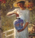 turner girl with lantern