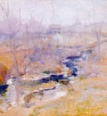 twachtman end of winter c1890