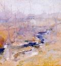 twachtman end of winter c1890