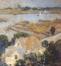 twachtman gloucester harbor c1901
