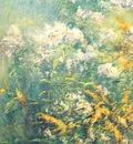 twachtman meadow flowers early 1890s