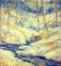 twachtman snow scene
