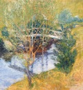 twachtman the white bridge late 1890s