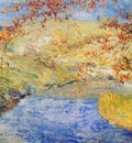 twachtman the winding brook c1887