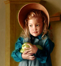 Tyler Timothy Girl with Apples