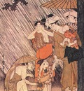 utamaro shower 2 left panel