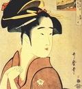 utamaro the geisha kamekichi
