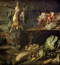 Utrecht Adrian Van Kitchen Interior With Still Life Maid By The Fire
