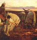 vasnetsov warrior at the crossroads