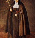 Velazquez Abbess Jeronima de la Fuente