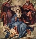 Velazquez The Coronation of the Virgin