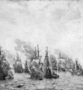Velde I van de Willem Sea battle Sun
