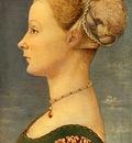 Domenico Veneziano Portrait of a girl, Museo Poldo Pezzoli,