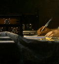 VERMEER A LADY WRITING DETALJ 4 NGW