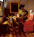 Vermeer The Glass Of Wine