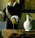 Vermeer The music lesson, ca 1662 1665, 74 6x64 1 cm, Detalj