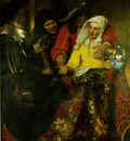 Vermeer The procuress, 1656, 143x130 cm, Gemaldegalerie Alte