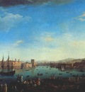 vernet entry to the port of marseille