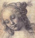 Verrocchio Head of a Girl study