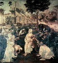 Leonardo Adoration of the Magi