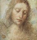 leonardo da vinci head of christ c1494