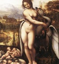 leonardo da vinci leda and the swan 1505