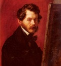 Vogelstein Carl Christian Vogel von Portrait Of Friedrich Von Amerling