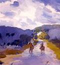horseback riders louis charles vogt 1930 fl art csg015