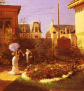 Voirin Leon Joseph Jeunes Femmes Au Jardin