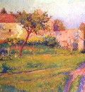 vonnoh spring in france summer landscape