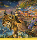 Josephine Wall Flight Of The Lynx Abraxsis