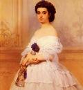 Wappers Baron Gustave Portrait De La Marquise De Louvencourt Nee Montaud